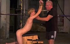 CBT twink Jacob Daniels endures Sebastian Kanes torment