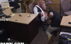 GAY PAWN - Groom To Be, Gets Anal Banged In Pawn Shop!