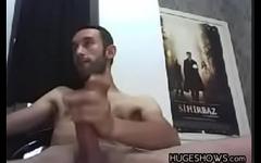 Masturbating Arab Guy