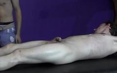 BadBoyBondage - Skinny sub cannot escape BDSM bondage and wax torment