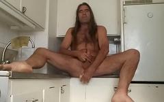 masturbation kitchen. Do you wanna play with me?
