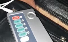 electro hung sub in leather sac