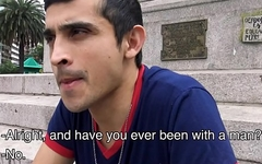 Amateur Straight Latino Paid Cash For Fuck With Gay Guy POV