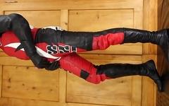 Leather bike suit IXS