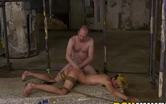 Female to male Olly Jackson anally fucked by master Sean Taylor
