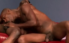 Two black men fuck each other