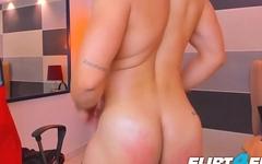 Morgan Kanex - Flirt4Free - Muscular Guy Next Door Fondles His Tight Hole