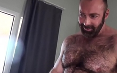 Wolf getting barebacked by hairy bear