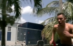 BAIT BUS - Ripped Latino Ethan Slade Gets Tricked By Vanessa Foxx and Logan Ryder