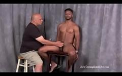 foot black slave