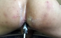 Fucking my ass with this nice toy :)