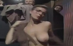 TV show (saggy tits nerdy woman changing clothes) Schwul / Spass