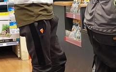 Public bulge, young boner