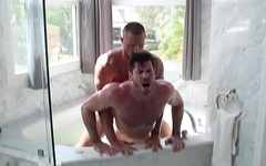 Full Tilt Fuck Scene 1 featuring Billy Santoro and Michael Roman - Trailer preview - BROMO