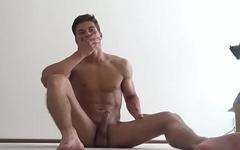 Hot naked boys jerking