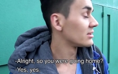 Young Amateur Latino Picked Up Off Street And Paid To Fuck Stranger POV