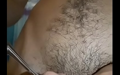 Enfiando na urethra! Que delici