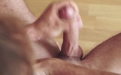 Maskurbate Straight Amateur Big Uncut Cock Masturbates For You