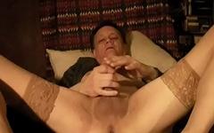 Breaking in fresh stockings