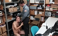 FORCED to SUCK OFFICERs DICK as PUNISHMENT