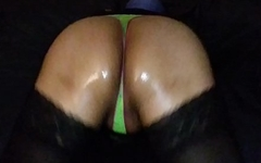 Sissy pussy clapping