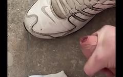German Soccer, Fussballer jerking, Nike Shox