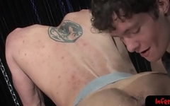 Tight submissive bent over and fist fucked