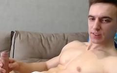 SEXY Slavic plumber stud shoots jizz instead of water... STEAMY ASF