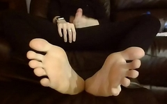Twink Feet, Cock, and Soles