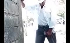 Pissing Cowboy