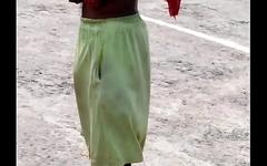 Indian Man in No Underwear