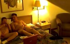 Hidden cam DL bi guy finds the camera (old video)