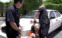 Guy gets arrested for solicitation by horny gay officers