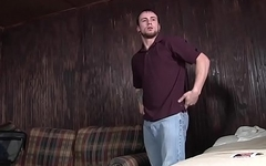 Jared Summers with Jeremy Adams at Bareback Motel Part 2 Scene 1 - Bromo