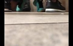 Spying Blowjob at publick restroom