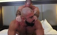 Daddy Bishop Angus fucks the raw ass of Steven Roman