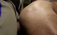 Big dicked hunks have breeding piss party with cumshot