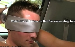 BAIT BUS - We Pick Up A Couple Of Straight Guys And Try To Seduce Them
