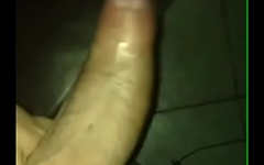 pathetic little dick tries to stay hard