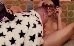 TransSensual Daddy Raw Dogged by Chanel Santini!