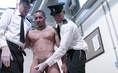 two handjob and lick cum