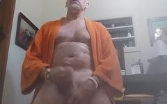 Danrun Cums in front of his big mirror