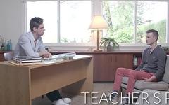 NextDoorRaw Twink Wants HOT Teacher'_s Bareback Dick