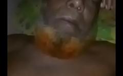 Bangladeshi uncle having fun with a young boy